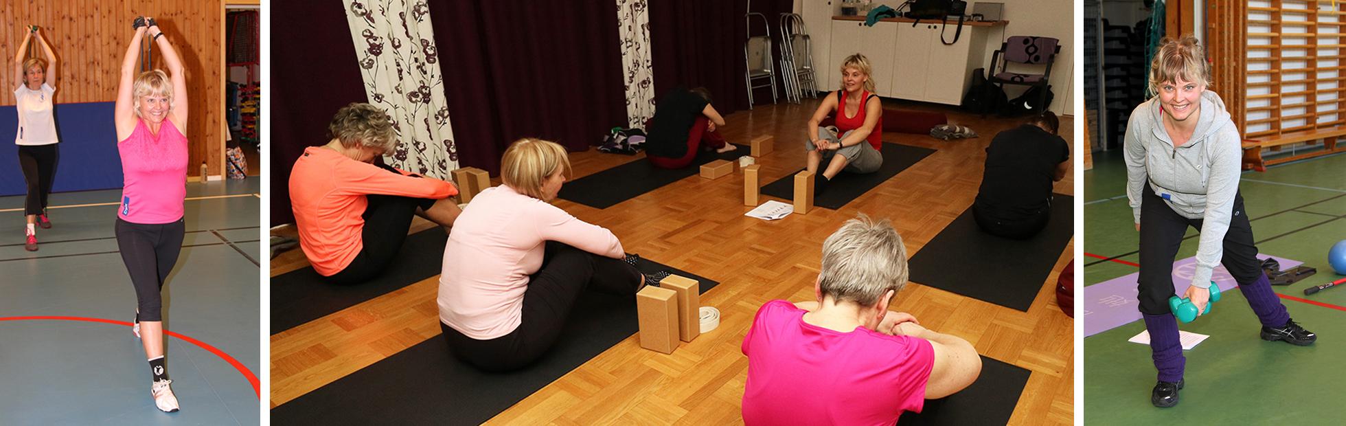 Utbildning och föredrag om träning med Christina Froh