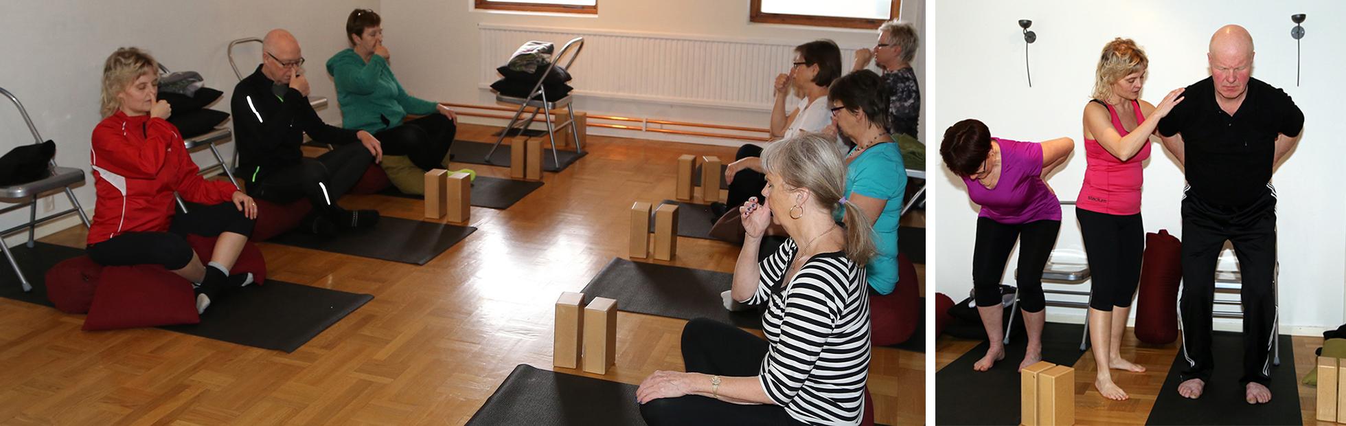 Postural yoga med Christina Froh på Spa For Hjo.
