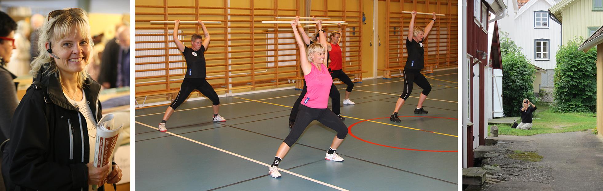 Christina Froh - träningsutbildare, gruppträningsinstruktör och yogalärare